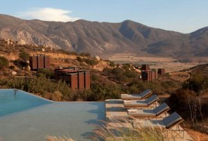 The boutique hotel overlooking the Guadalupe Valley