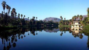 The artificial lagoon