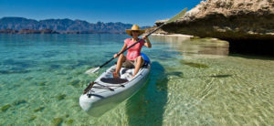 Calm, pristine waters perfect to do kayak